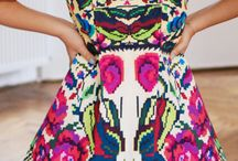 Ethnic inspired apparel