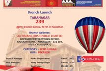 New Branch Launch / In this board we will pin our new branch opening information
