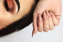 Orange Makeup Looks
