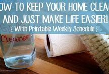 Homemaker Helps / This board is tips, how-to's and ideas for the homemaker - from homemade cleaners to home duty schedules.