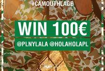 WIN 100 EURO / CONTEST : www.instagram.com/plnylala