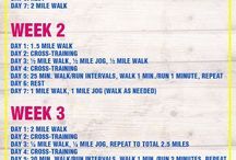 Walking / Walking schedule