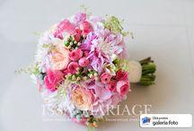 Buchet mireasa colorat IssaMariage / Realizam cele mai frumoase buchete de mireasa. :)