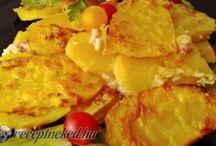 Krumplis ételek