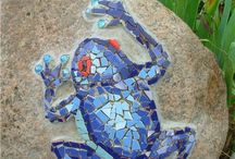 Mosaic and Art Garden Ideas