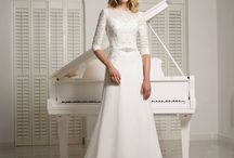 Our Wedding Dresses / In stock a waiting for you to love as much we do