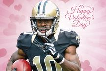 Saints Valentine's Day Cards / by New Orleans Saints