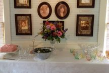 Rossetter House Showers / Baby showers and wedding showers held in the Roesch House parlor or Rossetter House patio