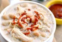food : chili + soup