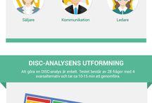 disc analys / DISC analys, personlighetstest färger