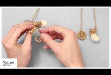 Videos: Nattypat Crochet Pattern Aids / Helpful tips and tricks from Natalie of Nattypat Crochet that will assist you in crocheting and finishing a specific Nattypat Crochet project.