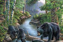 три  медвеведя