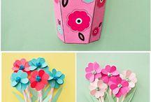 3D flower craft ideas