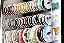 rendszerezés / Ötletek, scrapbook cuccok tárolására.
