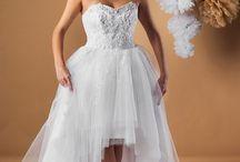 Suknia ślubna Karmen / Do odważnych kobiet świat należy. Sukienka ślubna dodająca seksapilu.