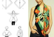 Create a Top with a Scarf