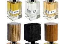Wooden fragrance bottles / The powerful and earthy feeling of the wood...