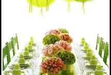 Wedding - green and diy