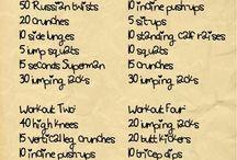 Post preggy workouts