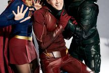 Flash, arrow and supergirl