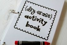 Dry Erase Book!! / by Kate Chidester