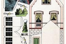 Paperdolls9 Кукольный дом / Кукольные домики, мебель, транспорт - схемы из бумаги