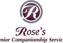 Rose's Senior Companionship Services / If you live in the Ottawa area and are in need of respite care, temporary assistance with convalescence after illness, or meaningful in-home companionship, we can help.