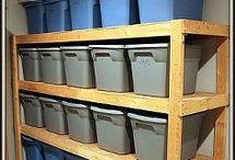 Storage and Organization / by Diane Lemieux