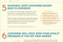 Customer Service Ideas / Helpful visual charts about fantastic customer service tips