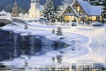 크리스마스 풍경