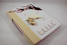 """ღ caderno de mensagens do bebê ღ / Um caderno feito especialmente para as primeiras visitas do bebê deixarem suas felicitações para essa nova """"vidinha"""" que está chegando!"""