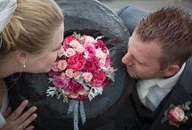 Trouwbloemen / Een overzicht van trouwbloemen die gemaakt zijn door Floor Bloemwerk.