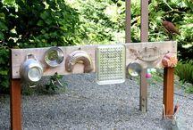 DIY backyard playground / by Jennifer Lemarier