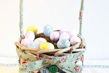 Sweet DIY decoration – decorate Easter decorations with buttons