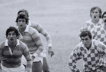 De casta le viene al puerro / Pepe Alcántara AKA Pichurri en su época como atleta e internacional con la selección nacional de Rugby