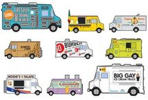 Food Trucks We Fave / Some of the best & cheap eats is on 4 wheels and traveling around your town. Here are some or our faves around the country.