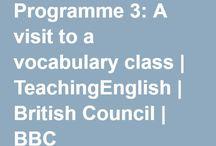 a visit to a vocab class