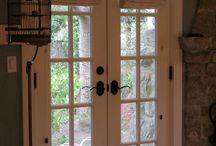 window coverings,french doors cottage