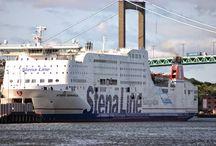 statki promy i inne
