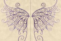 Embroidery Designs at Urban Threads - Delicate Wings