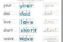 Homeschool Cursive Writing / by Jolene Green