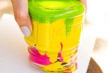 Color jar light