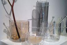 Design glassware / Beautiful unique hand crafted glass. Exhibited at Ambiente fair in Frankfurt.