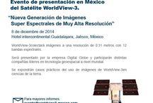 Evento Presentación de WorldView-3 en México / Presentación de un nuevo satélite de observación de la tierra de la constelación Digital Globe