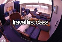 First class on planes