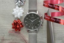 O.W.L Christmas Imagery / Various Images featuring O.W.L Great Britain wristwatches for public and Retailer use.