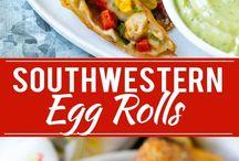 Egg roll recipes