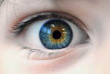 Eyes central heterochromia