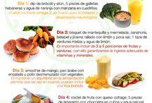 Comida, saludables bajar de peso / by Letzi Arauz