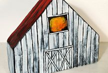 Little Houses / We live in a one-room cabin, so we love little houses. Here are some we made and some for inspiration.